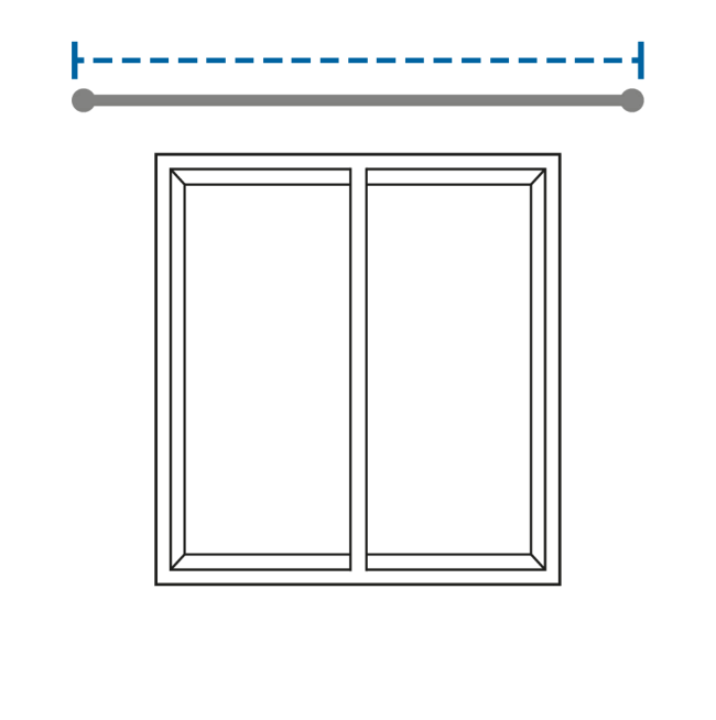 Measuring Width of Curtains